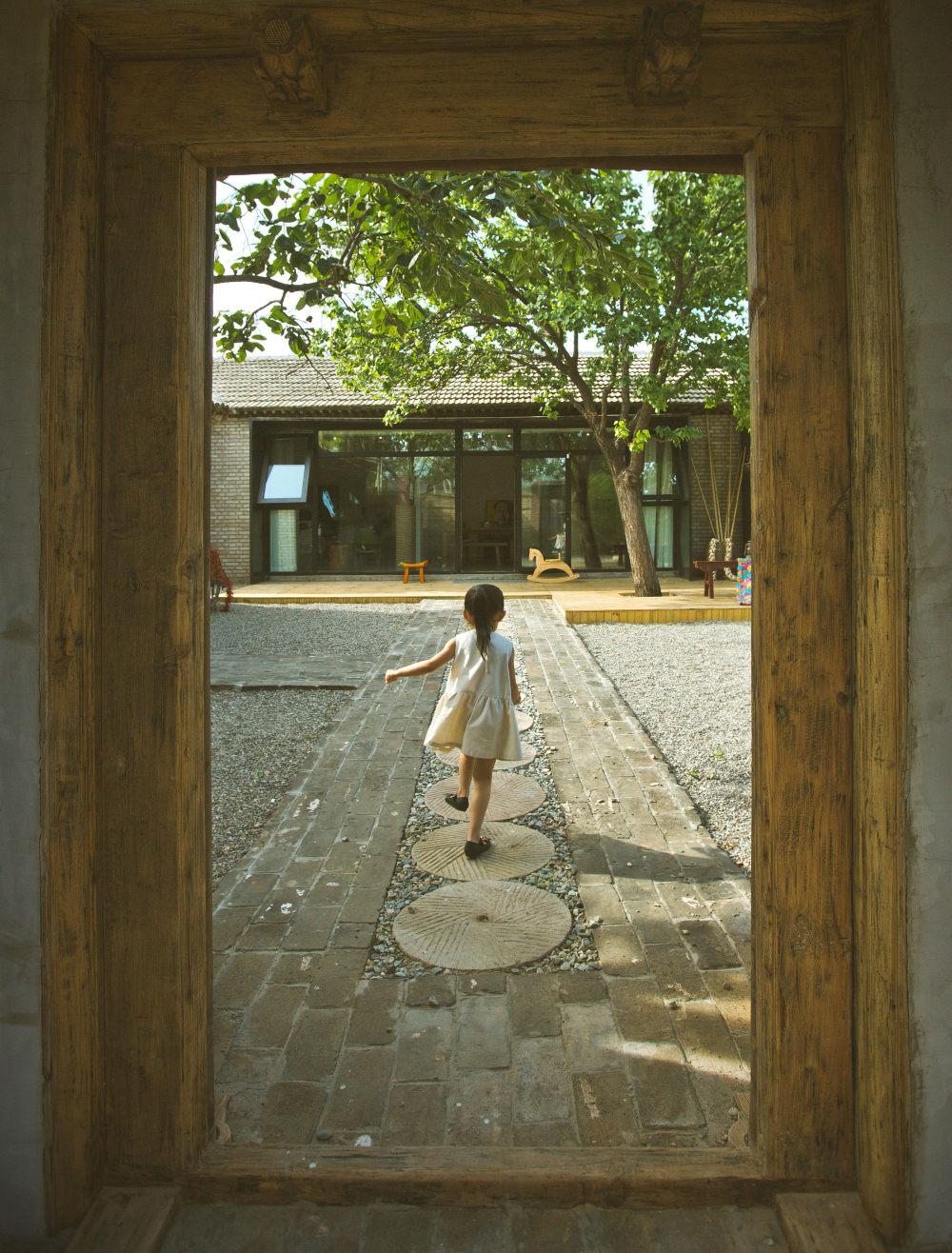 搪瓷缸小院