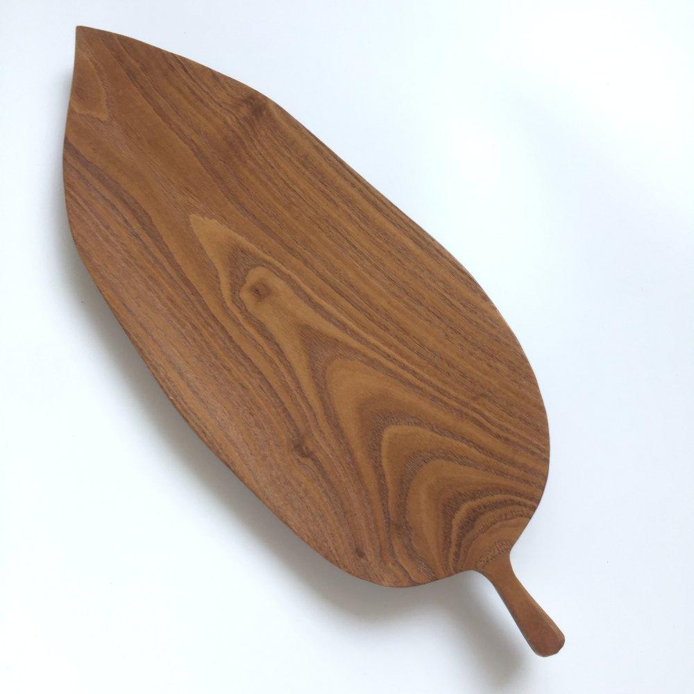 树叶木盘自己做的,需要的联系我_2845685017qq