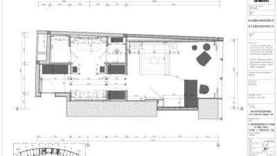 CCD-佛山罗浮宫索菲特酒店样板房施工图2014