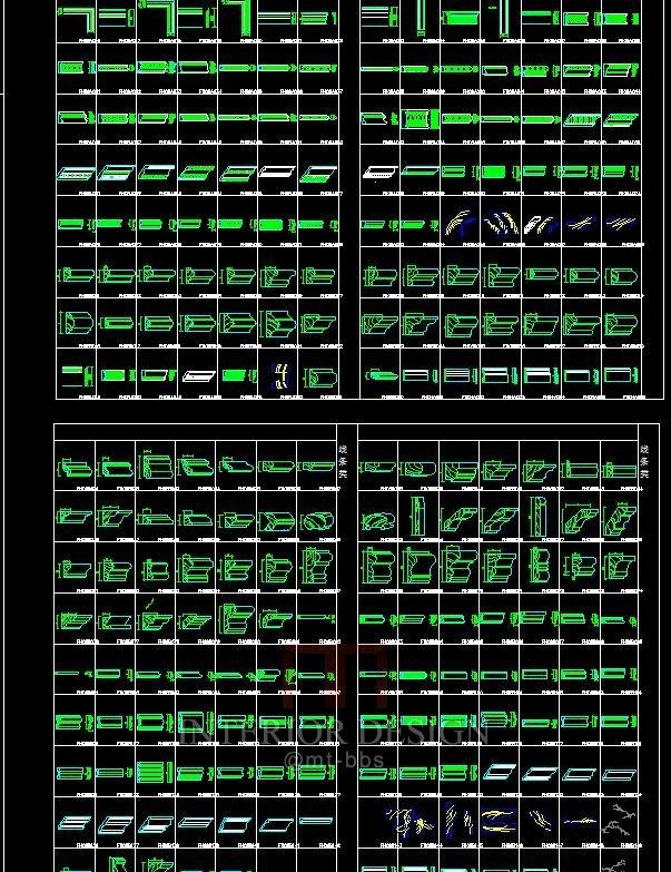 线条图库合集1990款_细节2