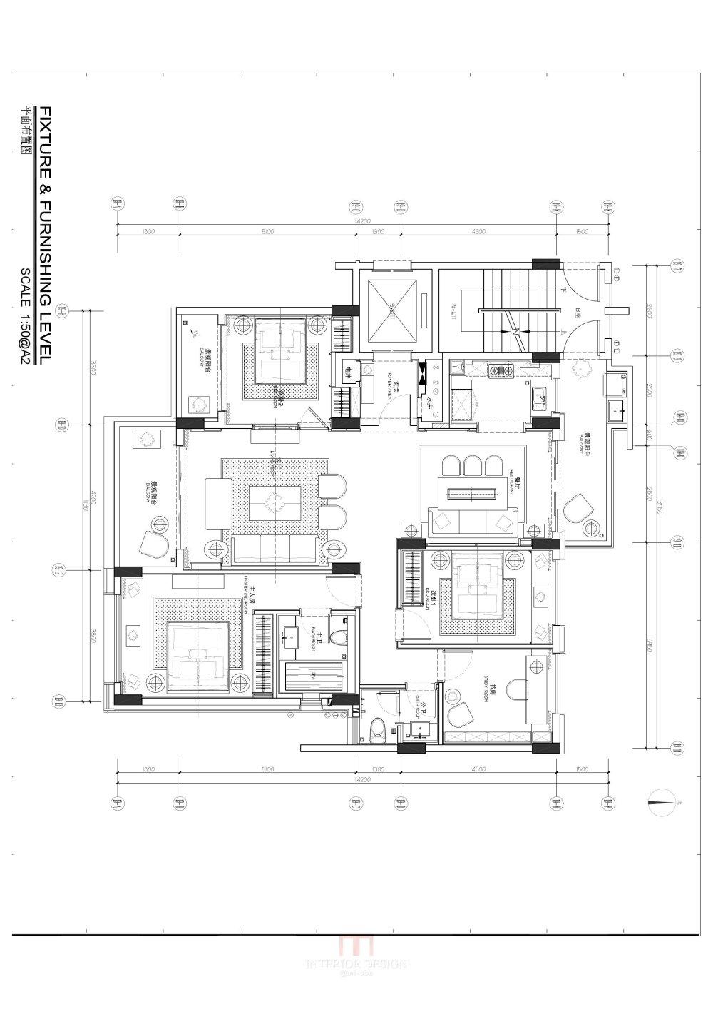 完整样板间CAD施工图+官方摄影及实景考察_02-平面施工图 布0001.jpg