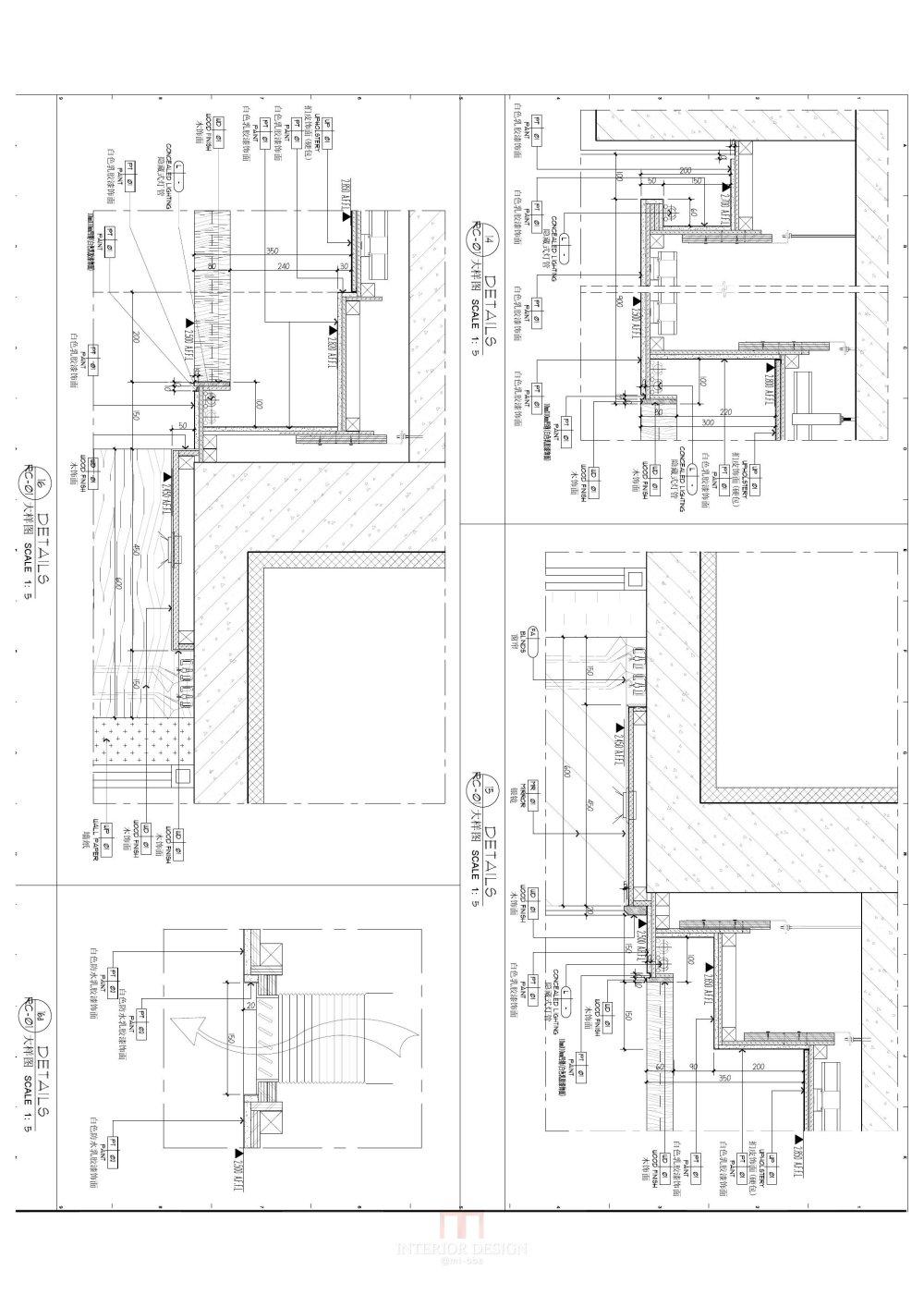 完整样板间CAD施工图+官方摄影及实景考察_04-标准大样图 布0001.jpg