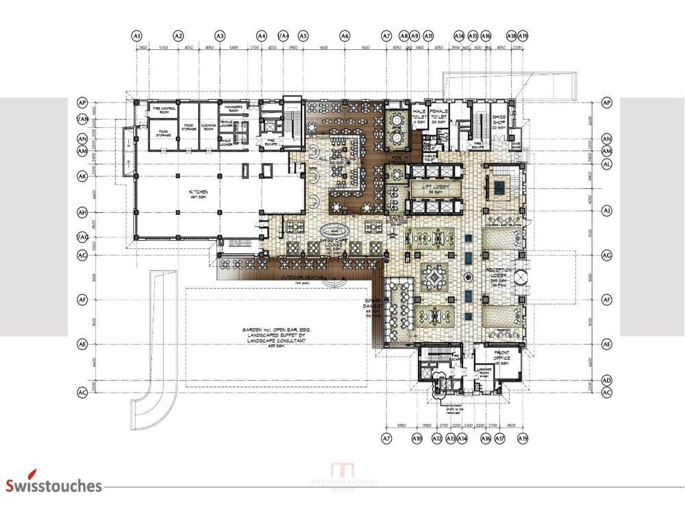 HBA-西安瑞丝利五星大酒店CAD施工图+效果图+物料表软装实..._幻灯片6.jpg