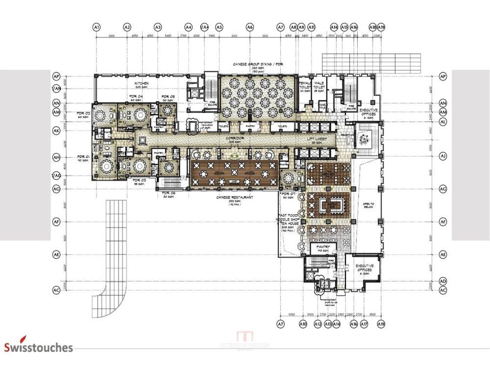 HBA-西安瑞丝利五星大酒店CAD施工图+效果图+物料表软装实..._幻灯片7.jpg