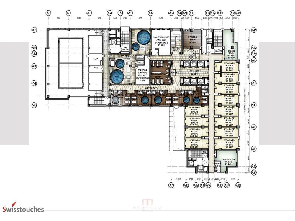 HBA-西安瑞丝利五星大酒店CAD施工图+效果图+物料表软装实..._幻灯片12.jpg
