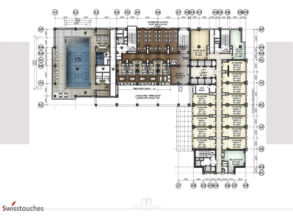 HBA-西安瑞丝利五星大酒店CAD施工图+效果图+物料表软装实..._幻灯片13.jpg