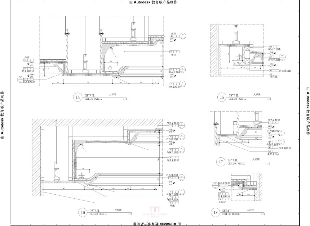 华邑设计  专业施工图深化设计_ID-3.0~3.8(天花大样图)-布局1.jpg