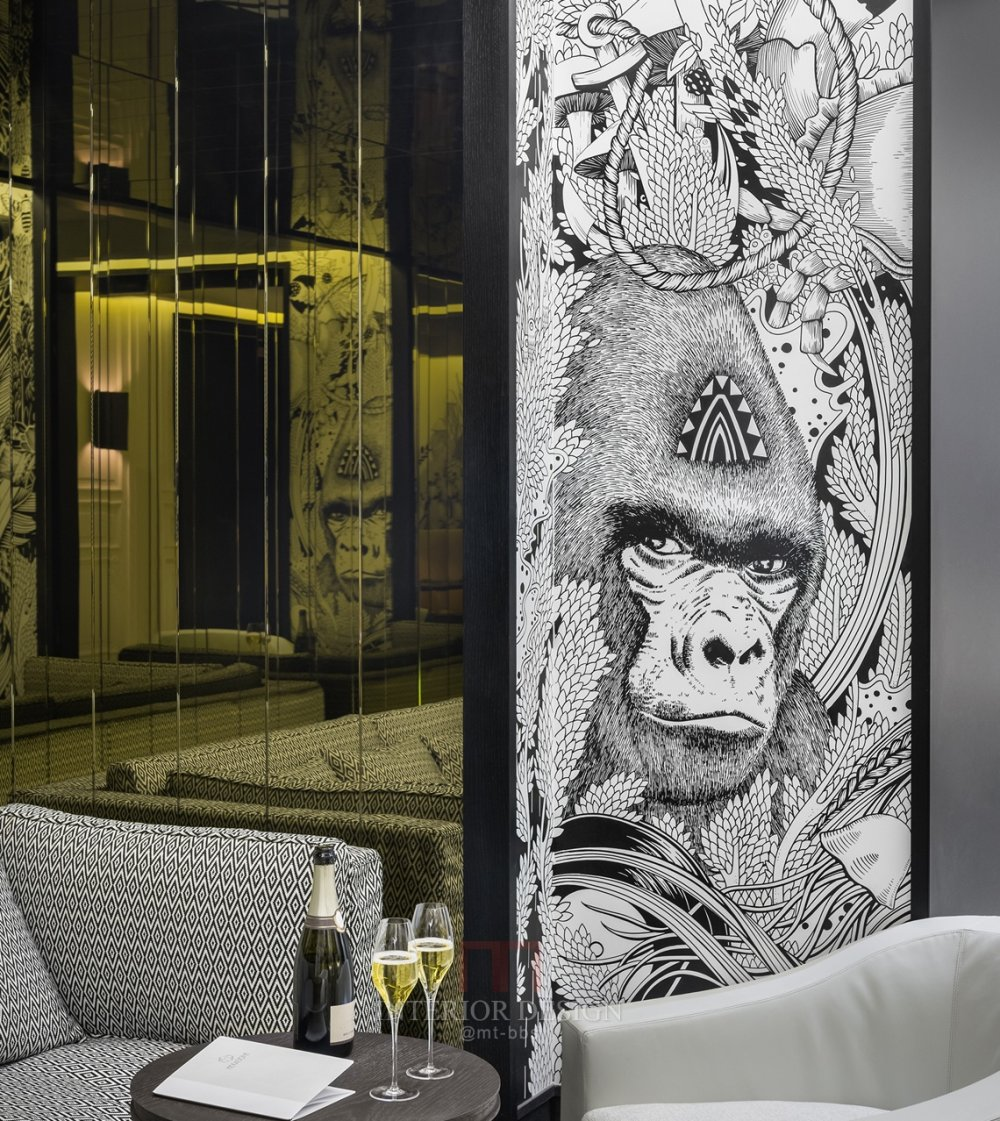 【高清国外设计师案例图集】Gilles & Boissier 商店餐馆酒店_Hexagone5.jpg