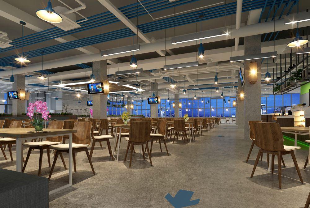 北京航空航天大学餐厅施工图、效果图_图片8.jpg