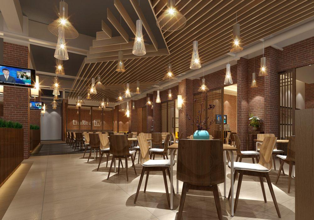 北京航空航天大学餐厅施工图、效果图_图片10.jpg