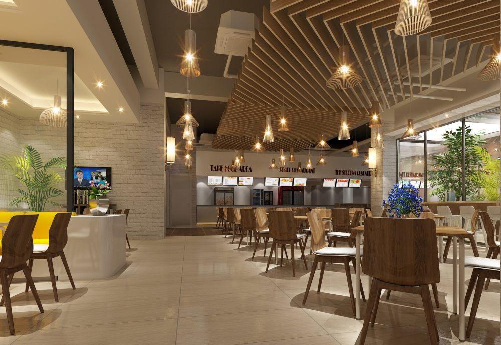 北京航空航天大学餐厅施工图、效果图_图片12.jpg