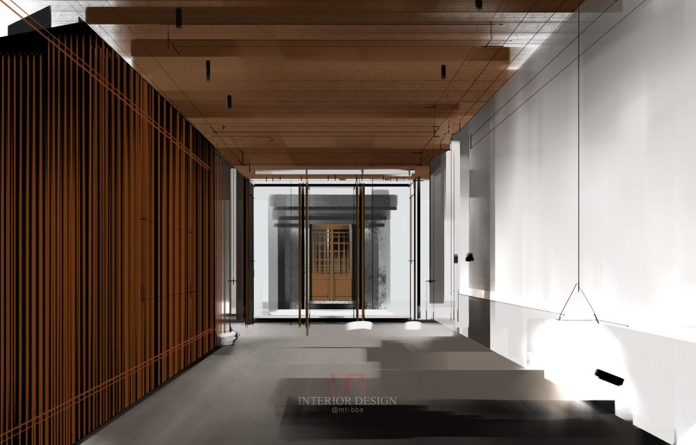 室内设计手绘——室内效果表现  方寸之鉴设计