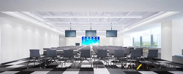 【凯悦装饰】代码写出的空间-小马智行办公空间设计_办公空间设计效果