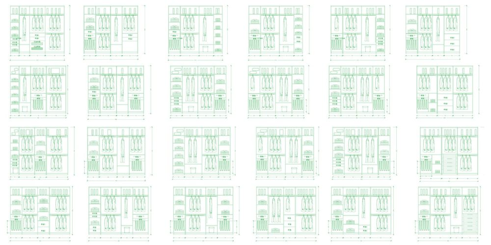一字型衣柜内部结构设计图集-Model.jpg