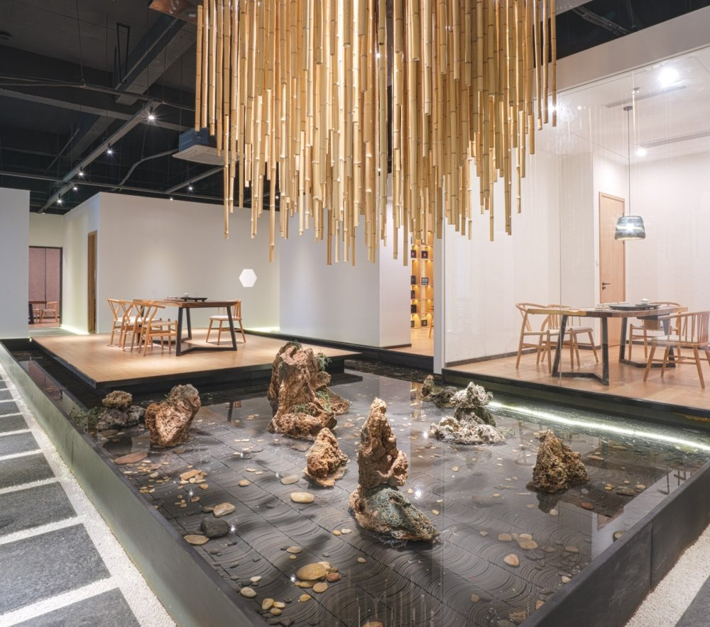 淀川设计事务所 - 自然素净的禅意空间——水之境茶馆_1.jpg