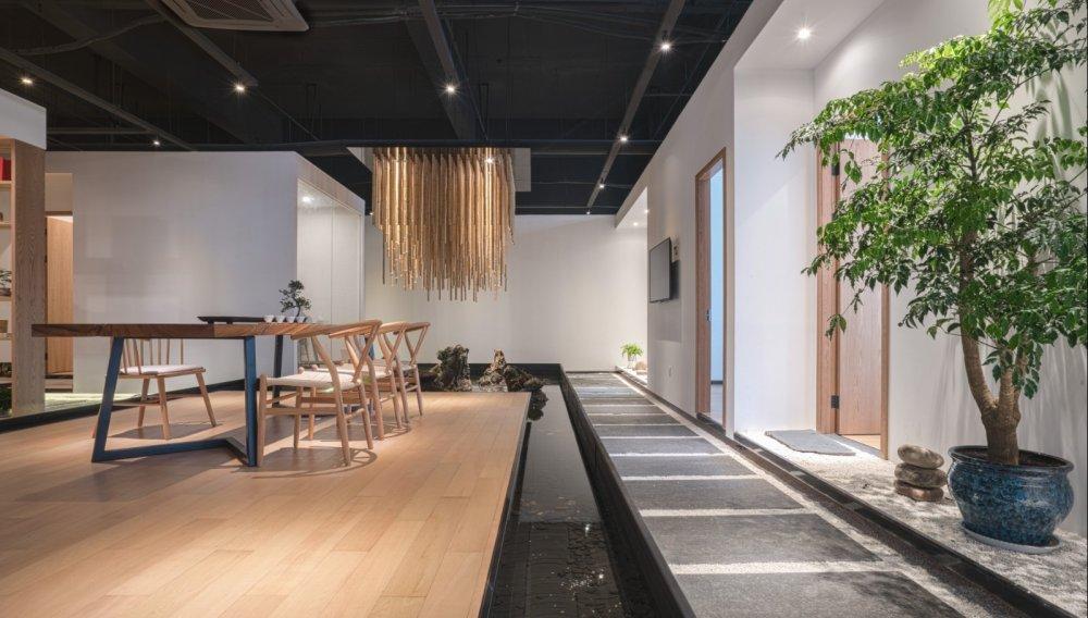 淀川设计事务所 - 自然素净的禅意空间——水之境茶馆_2.jpg
