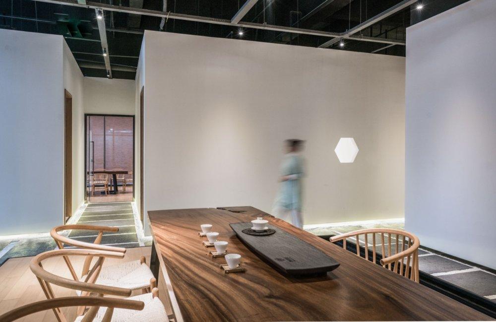淀川设计事务所 - 自然素净的禅意空间——水之境茶馆_4.jpg