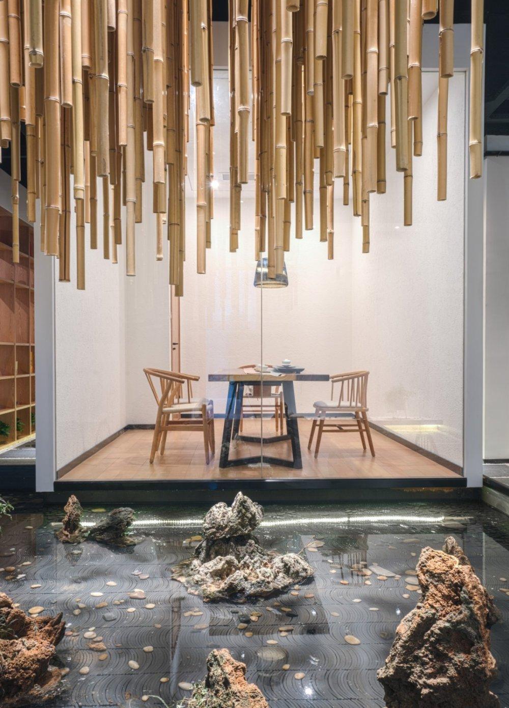 淀川设计事务所 - 自然素净的禅意空间——水之境茶馆_3.jpg