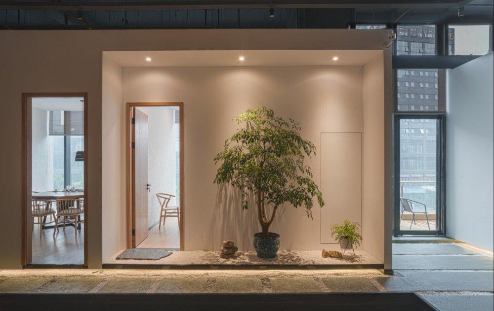 淀川设计事务所 - 自然素净的禅意空间——水之境茶馆_6.jpg