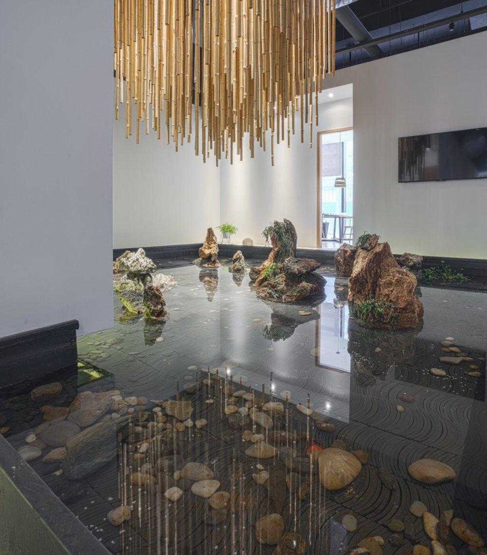 淀川设计事务所 - 自然素净的禅意空间——水之境茶馆_8.jpg