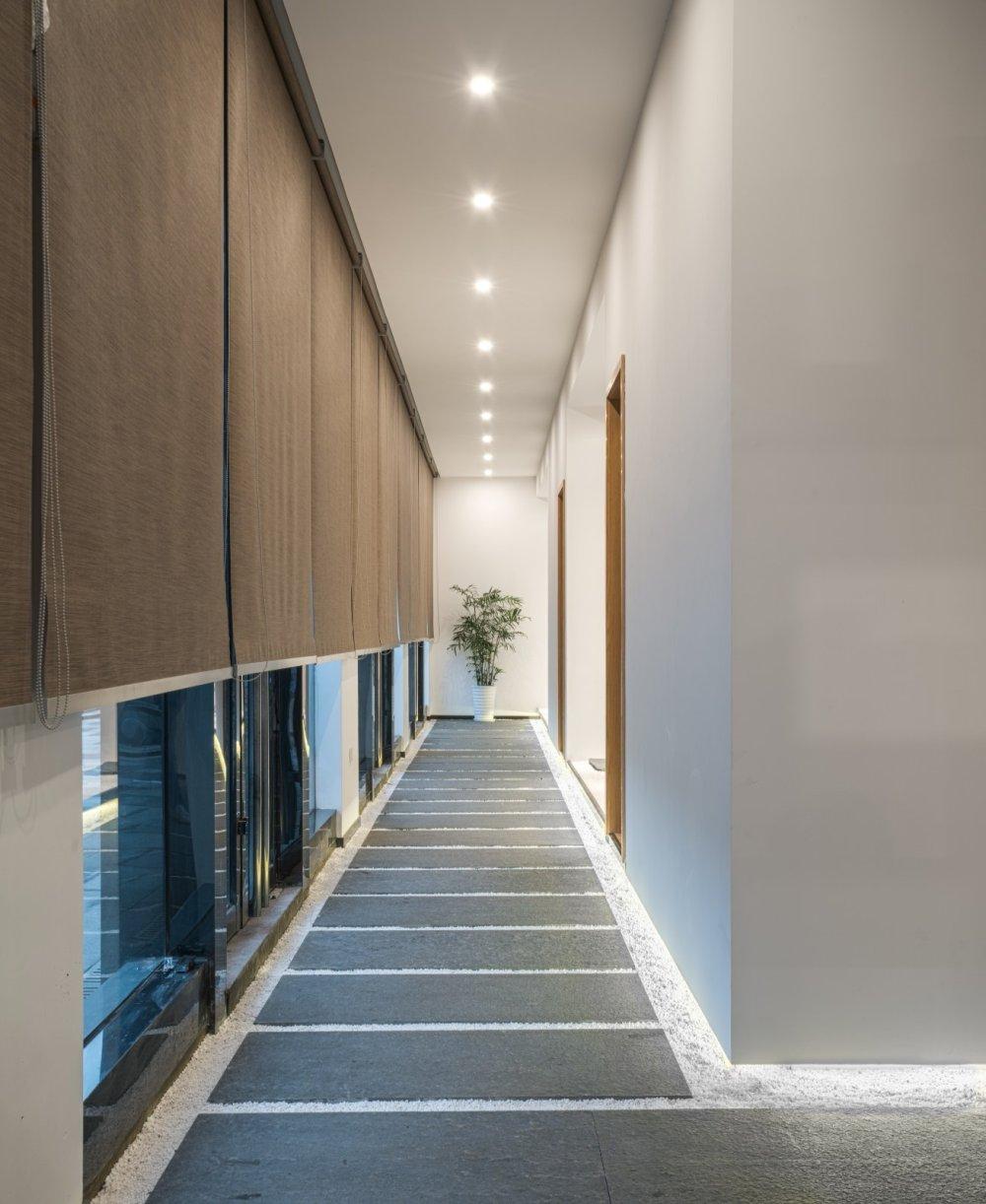 淀川设计事务所 - 自然素净的禅意空间——水之境茶馆_15.jpg