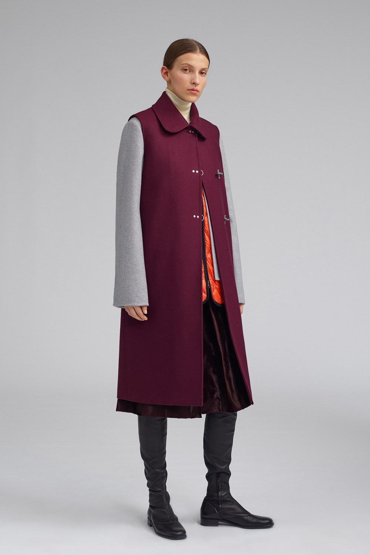 Fay时装系列感受潮流雨衣和短外套适合女性穿着别致的小腿裙-3.jpg