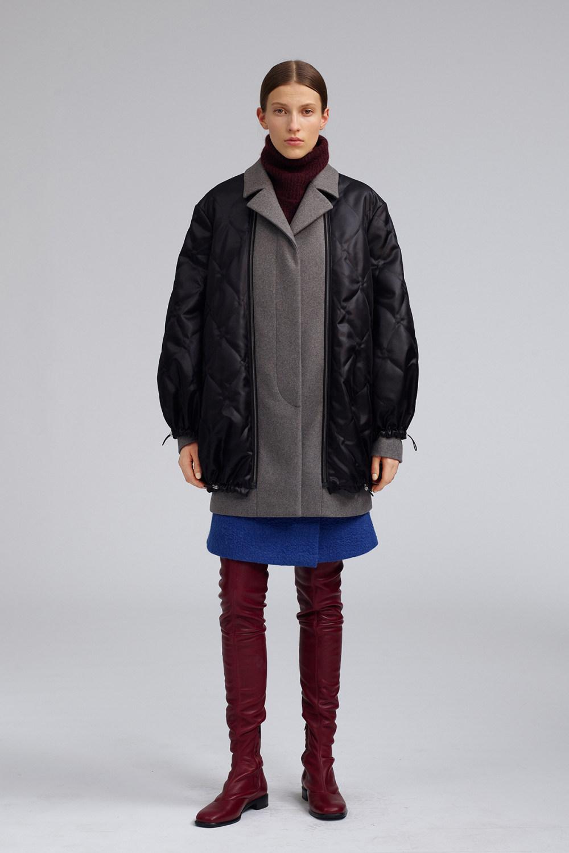 Fay时装系列感受潮流雨衣和短外套适合女性穿着别致的小腿裙-9.jpg