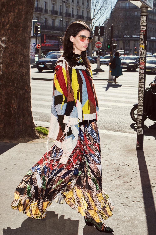 Sonia Rykiel时装系列细节如威尔士亲王式太阳裤外套的针织翻领-2.jpg