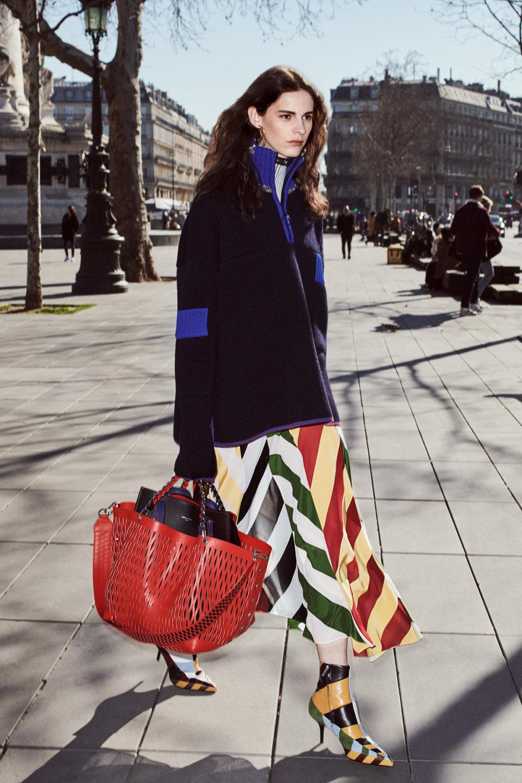 Sonia Rykiel时装系列细节如威尔士亲王式太阳裤外套的针织翻领-4.jpg