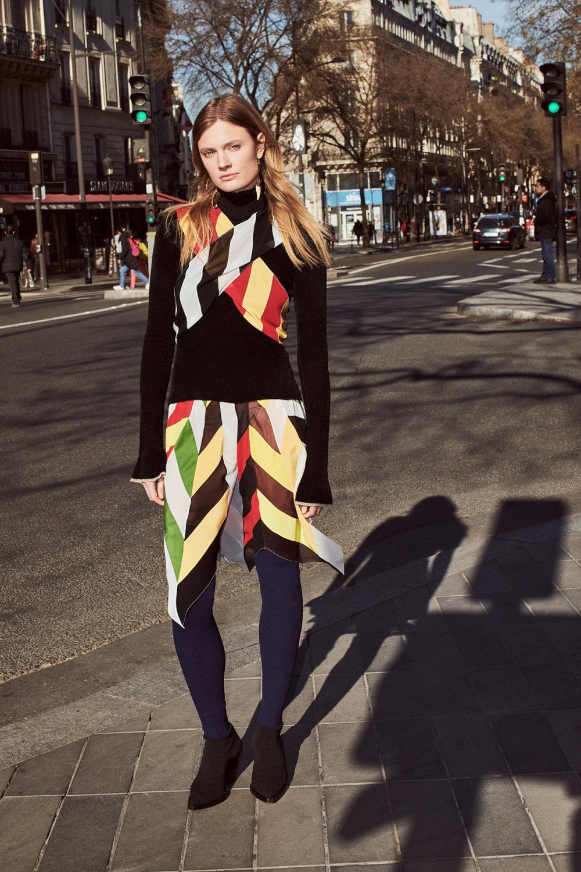 Sonia Rykiel时装系列细节如威尔士亲王式太阳裤外套的针织翻领-6.jpg