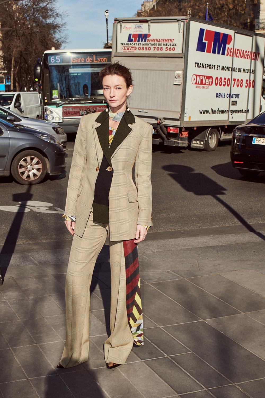 Sonia Rykiel时装系列细节如威尔士亲王式太阳裤外套的针织翻领-8.jpg
