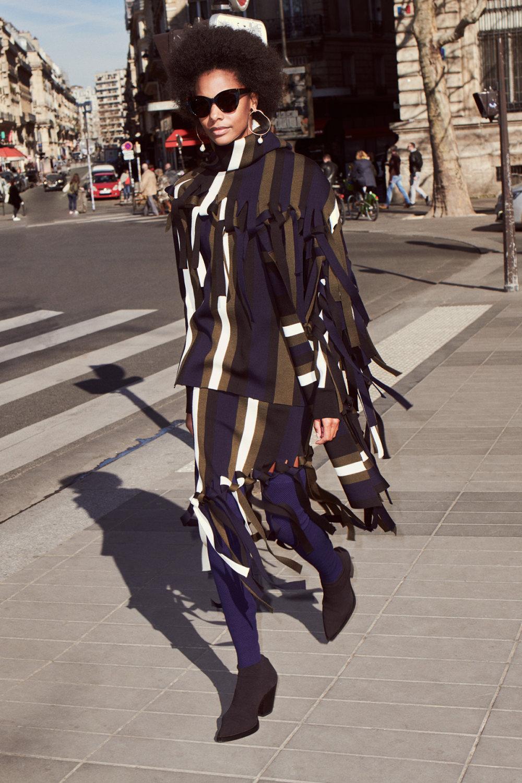 Sonia Rykiel时装系列细节如威尔士亲王式太阳裤外套的针织翻领-11.jpg