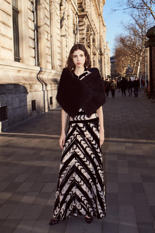 Sonia Rykiel时装系列细节如威尔士亲王式太阳裤外套的针织翻领-19.jpg