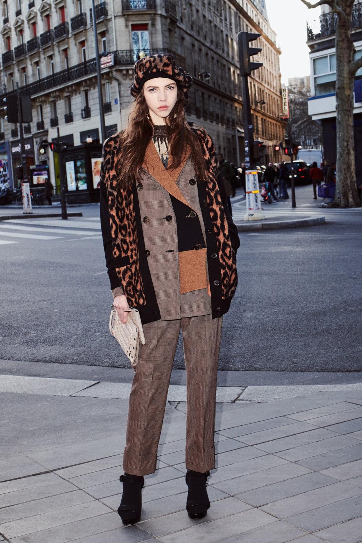 Sonia Rykiel时装系列细节如威尔士亲王式太阳裤外套的针织翻领-20.jpg
