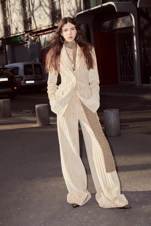 Sonia Rykiel时装系列细节如威尔士亲王式太阳裤外套的针织翻领-22.jpg