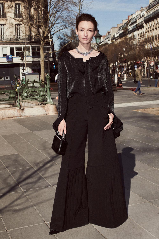 Sonia Rykiel时装系列细节如威尔士亲王式太阳裤外套的针织翻领-28.jpg