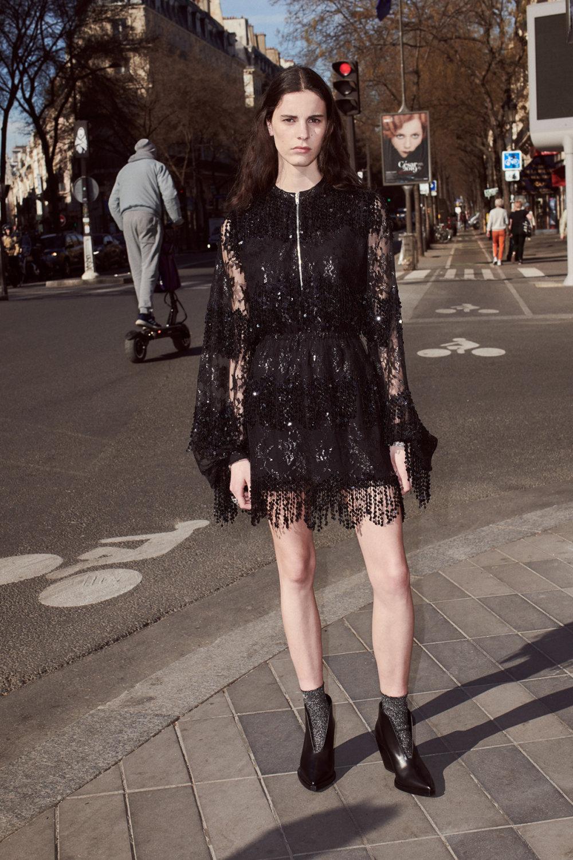 Sonia Rykiel时装系列细节如威尔士亲王式太阳裤外套的针织翻领-30.jpg