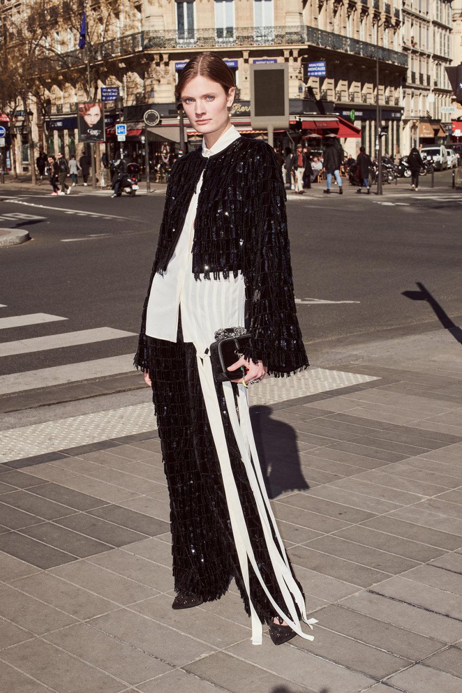 Sonia Rykiel时装系列细节如威尔士亲王式太阳裤外套的针织翻领-32.jpg
