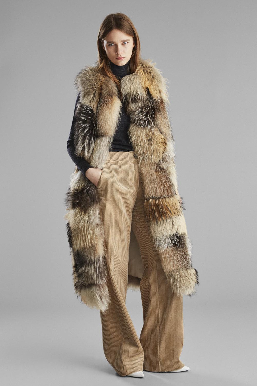 Yves Salomon时装系列蓬松的表面以及打印包括豹纹图案的印花-5.jpg