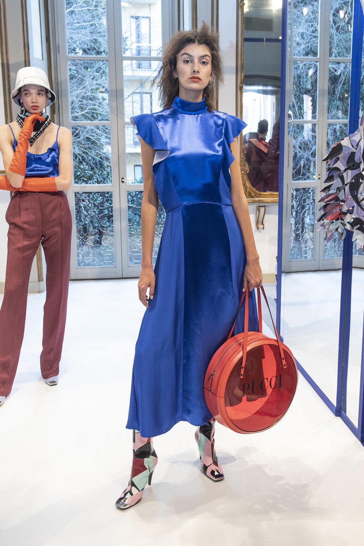 Emilio Pucci时装系列搭配运动裤以及六十年代流苏的条纹雪纺上衣-11.jpg