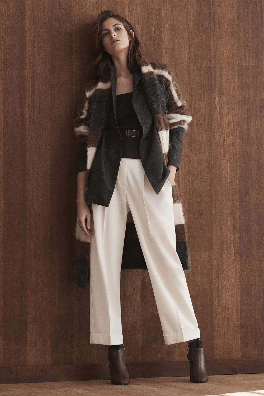 Brunello Cucinelli时装系列质地模仿的皮草配有前卫的羊毛背心-10.jpg