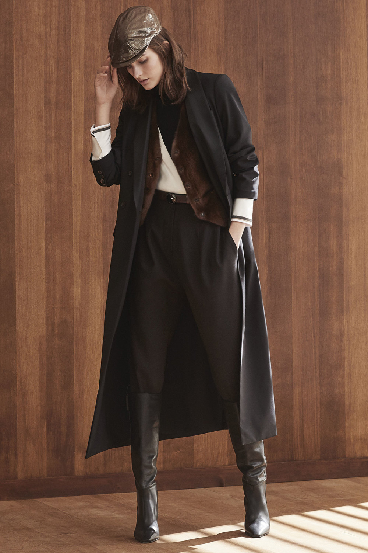 Brunello Cucinelli时装系列质地模仿的皮草配有前卫的羊毛背心-12.jpg