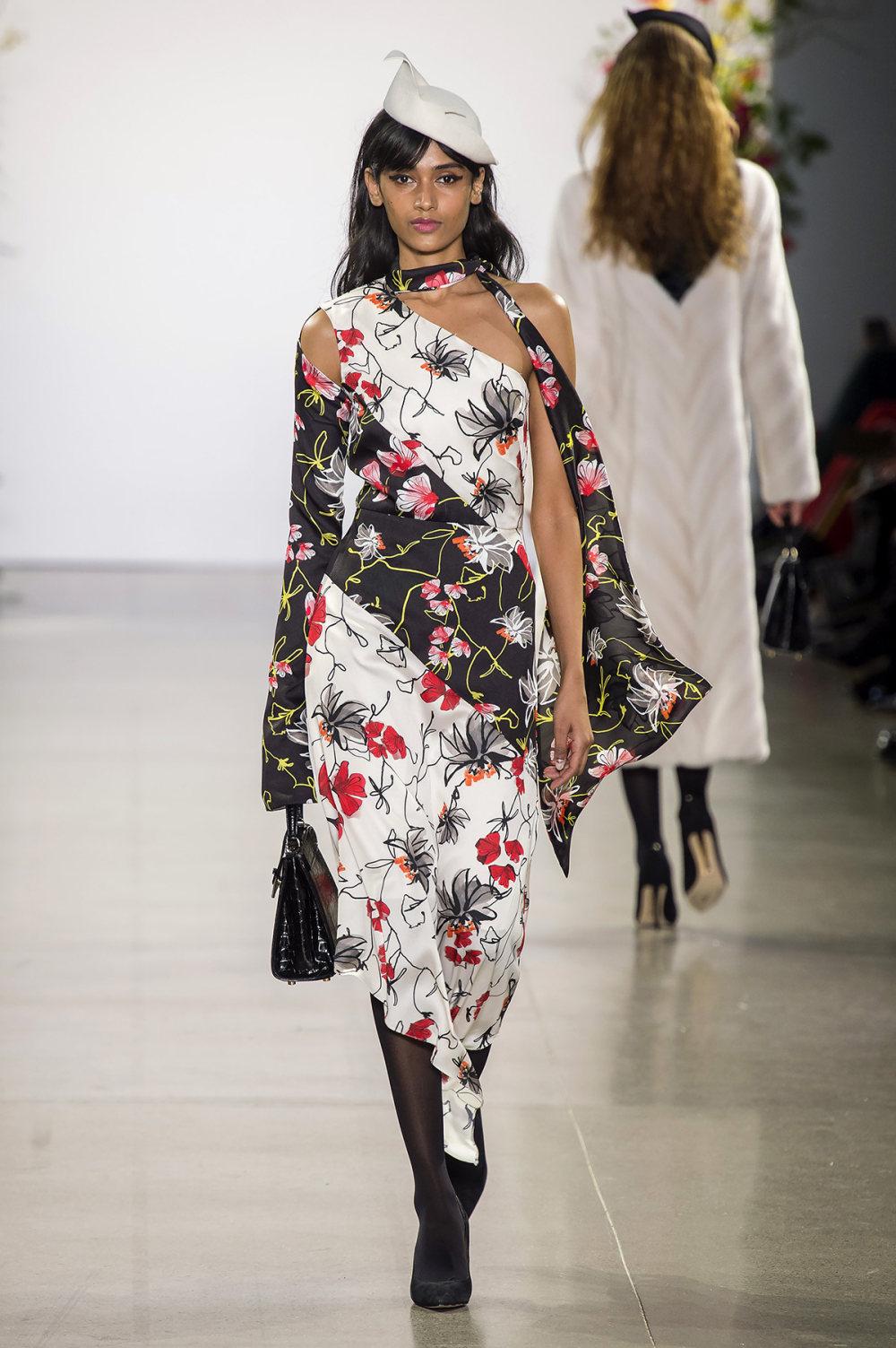 Bibhu Mohapatra时装系列颜色点缀蕾丝刺绣和结构的压轴礼服-17.jpg