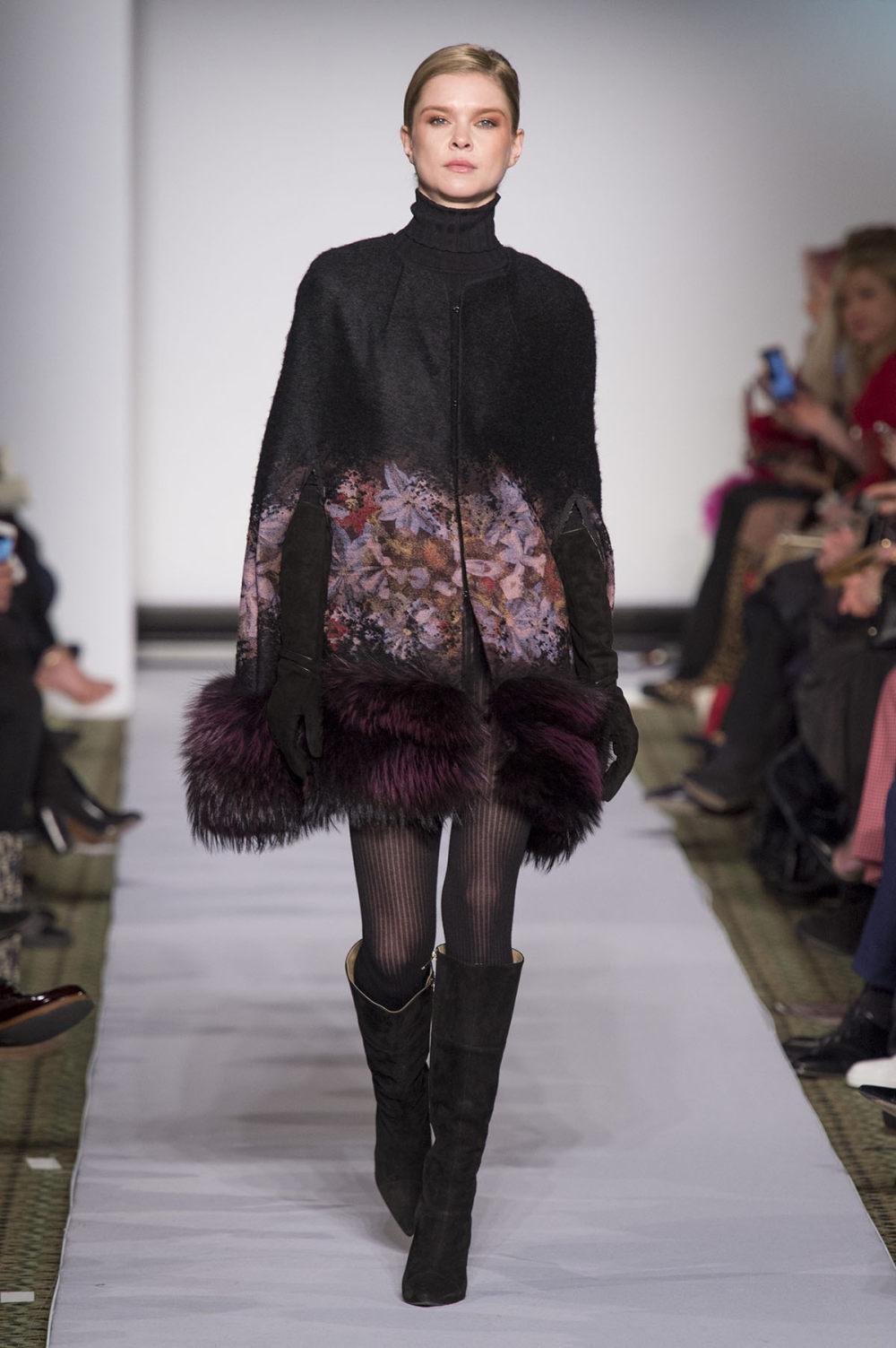 Carolina Herrera时装系列用鲜艳的颜色充满智能的黑白色调-28.jpg