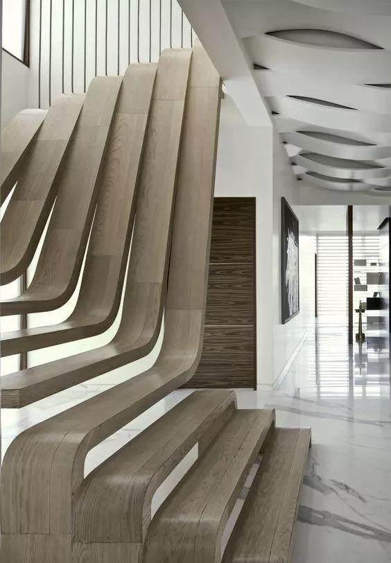 70款楼梯設計,每款都惊艳