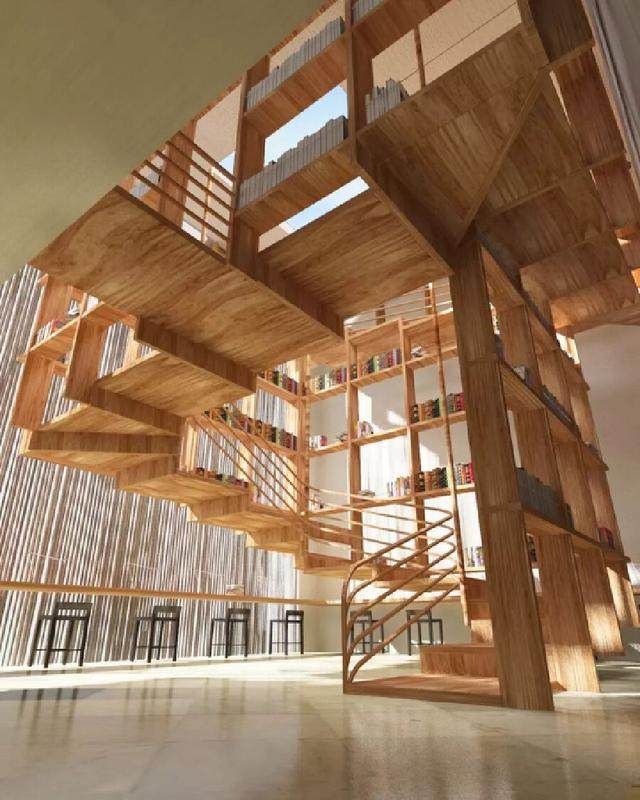 70款惊艳的楼梯設計(四)-6.jpg