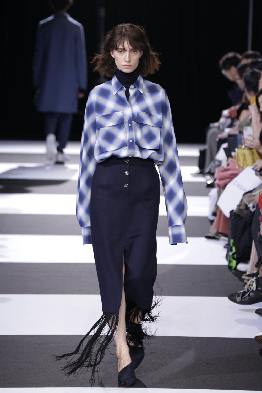 Cinoh服装系列女式长款流苏直筒裙搭配男式西装略带凌乱的精致-7.jpg