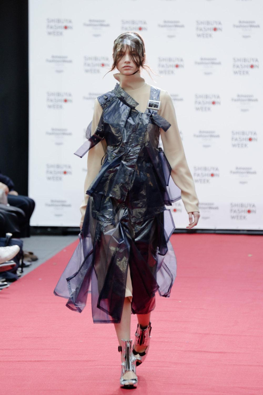 Shiroma时装系列深蓝色和芥末色蕾丝或者带有气球袖的勃艮第缎面-4.jpg