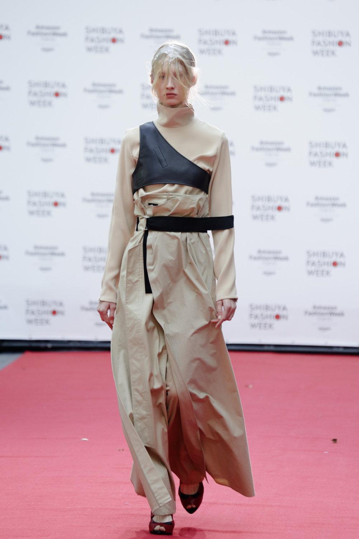 Shiroma时装系列深蓝色和芥末色蕾丝或者带有气球袖的勃艮第缎面-13.jpg