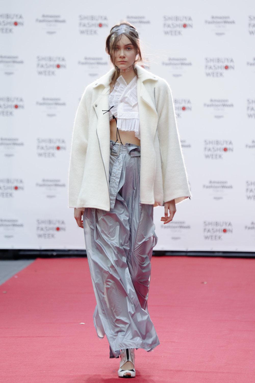 Shiroma时装系列深蓝色和芥末色蕾丝或者带有气球袖的勃艮第缎面-14.jpg